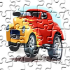 Cartoon Hot Rod Jigsaw