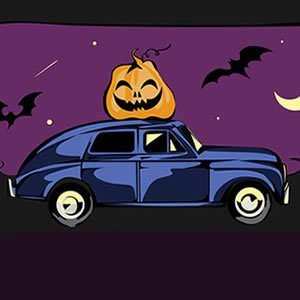 Halloween Car Puzzle