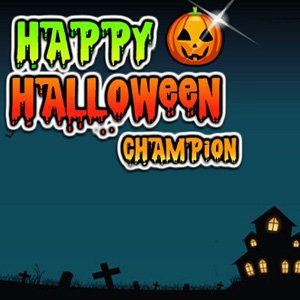 Happy Halloween Champion 2015
