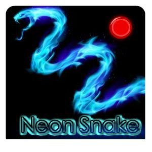 Neon Snake Flash Game
