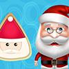 Santa Cooking Santa Sugar Cookie