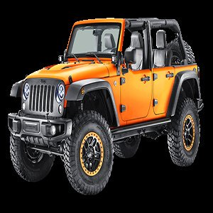 Wrangler Orange Jeep Puzzle