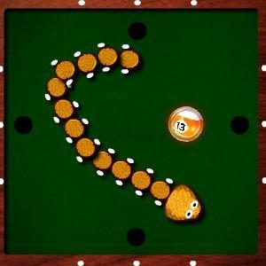 Billiard Snake Game
