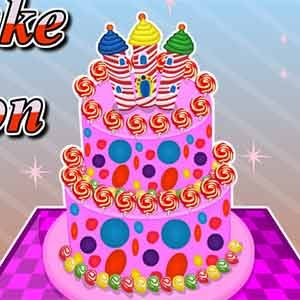 Candy Cake Decoration