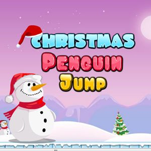 Christmas Penguin Jump