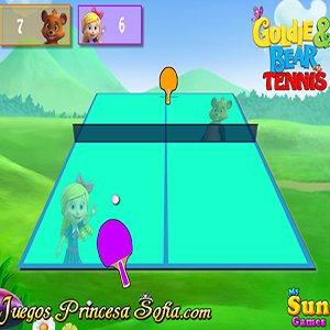 Goldie and Bear Tennis