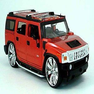 Hummer H2 Miniature Rouge