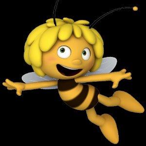 Maja the Bee Drawing Artist