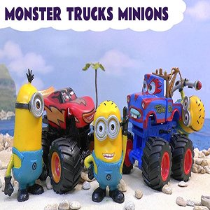 Monster Trucks Minions