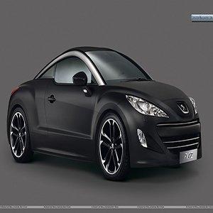 Peugeot RCZ Asphalt Black Edition