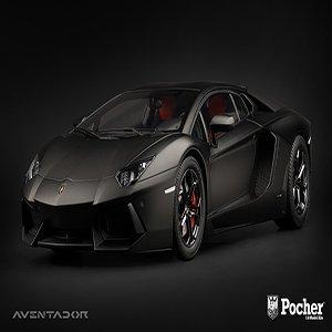 Porscher Lamborghini Aventador