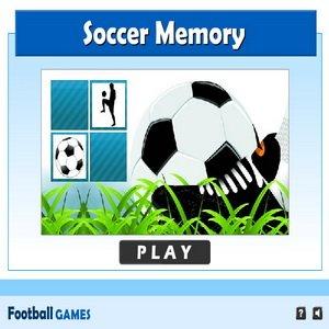 Soccer Memory Game