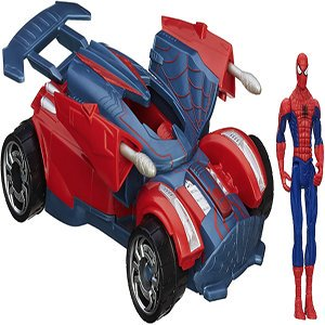 Spiderman Battle Vehicle Puzzle
