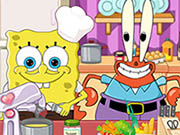 SpongeBob Kitchen Slacking