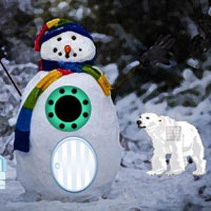 Winter Snowman Escape